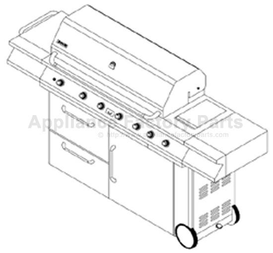 Jenn Air 730-0166 BBQ Parts