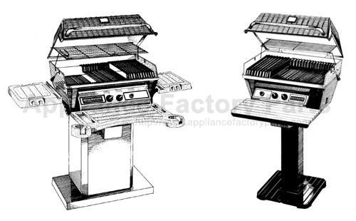 Broilmaster U26 BBQ Parts