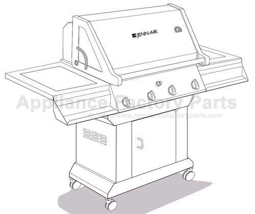 Jenn Air JA460 BBQ Parts
