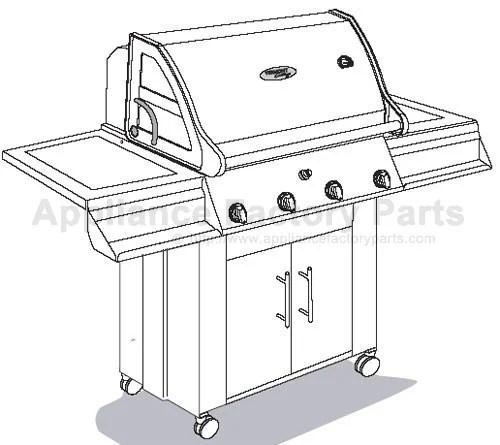 Vermont Castings CF9055 BBQ Parts