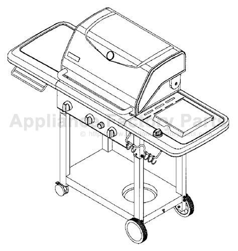 Kenmore 141.162231 BBQ Parts