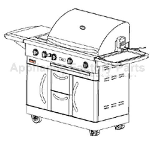 Nex 720-0108 BBQ Parts