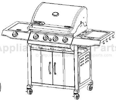 Bbq-pro BQ04023-1 BBQ Parts