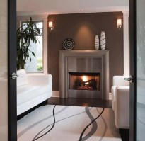 Marble fireplace surround ideas modern   Appliance In Home