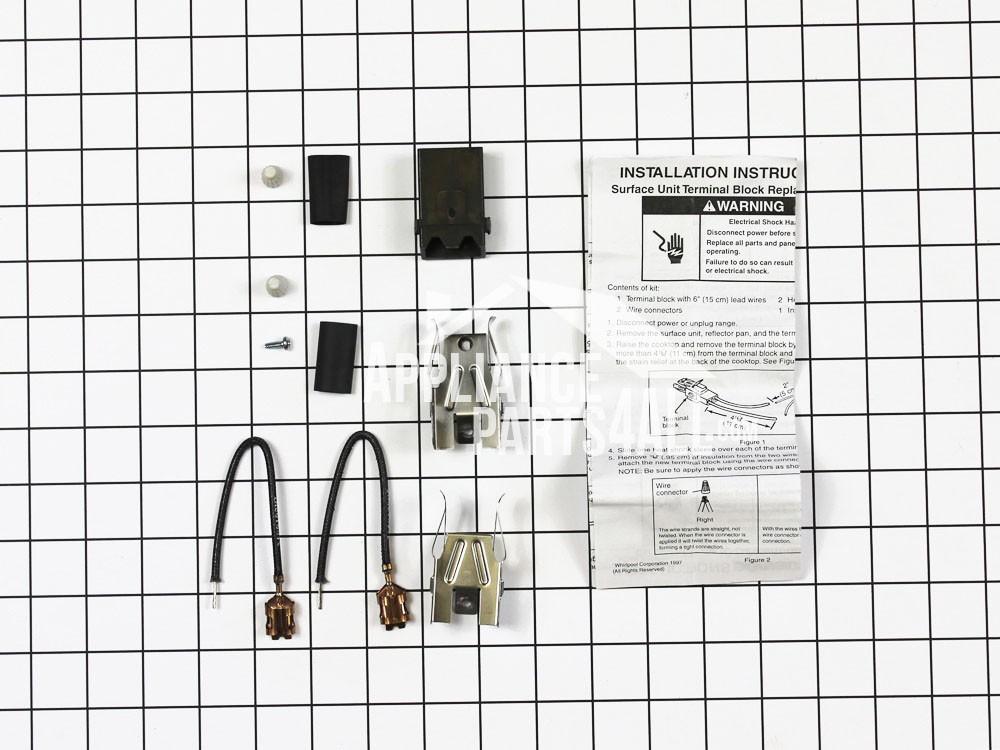 Whirlpool 330031 Top Burner Receptacle Kit