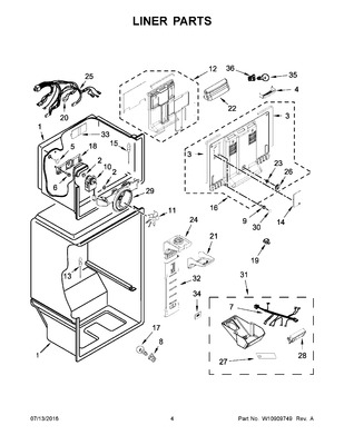 W10392132 : WHIRLPOOL REFRIGERATOR BI-METAL DEFROST