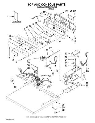 W10130081 : WHIRLPOOL DRYER ELECTRONIC CONTROL BOARD