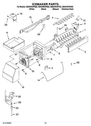 Whirlpool Ice Machine Wiring Diagram, Whirlpool, Free
