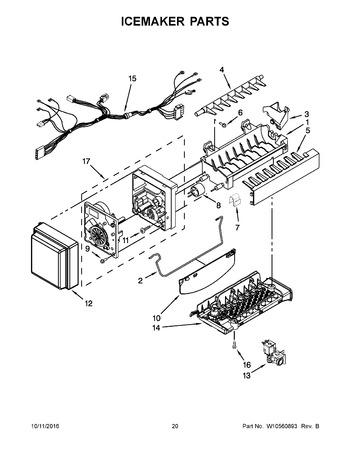 Whirlpool Ice Maker Parts Diagram Solenoid Maytag Range