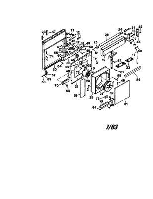 97009786 : Broan Nutone Range Hood Aluminium Grease Filter