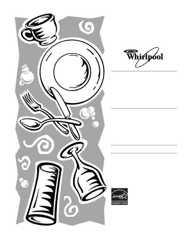 Whirlpool Whirlpool Dishwasher Du1201 User's Manual