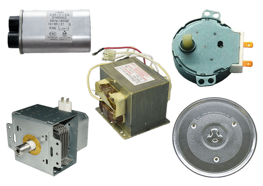 microwave parts spares and acessories