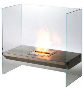 The Eco Friendly Eco-Smart Igloo Ethanol Burning Fireplace