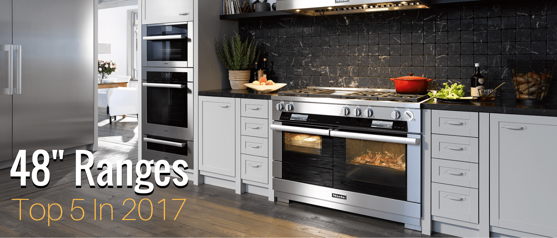 top rated kitchen stoves small round table five 48 inch range ovens of 2017 appliances connection the is cornerstone any modern and there are a lot options from which to choose whether you replacing an older oven or just