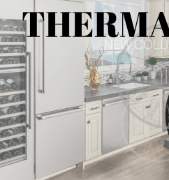 new appliances from thermador column refrigeration [ 1912 x 817 Pixel ]