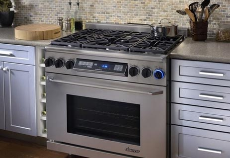 kitchen ranges gas small wood table top ten 36 inch of 2017 appliances connection dacor renaissance series freestanding dual fuel range