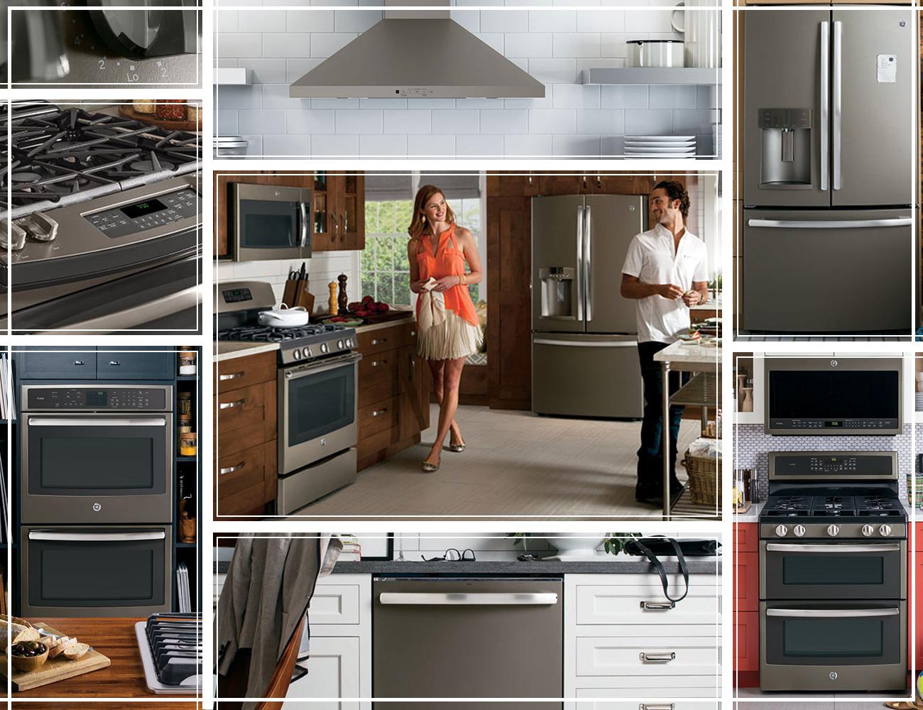 GE Slate Series Appliances Connection