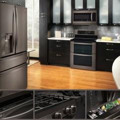 Black Stainless Steel Kitchen Japanese Knives Lg Series Appliancesconnection