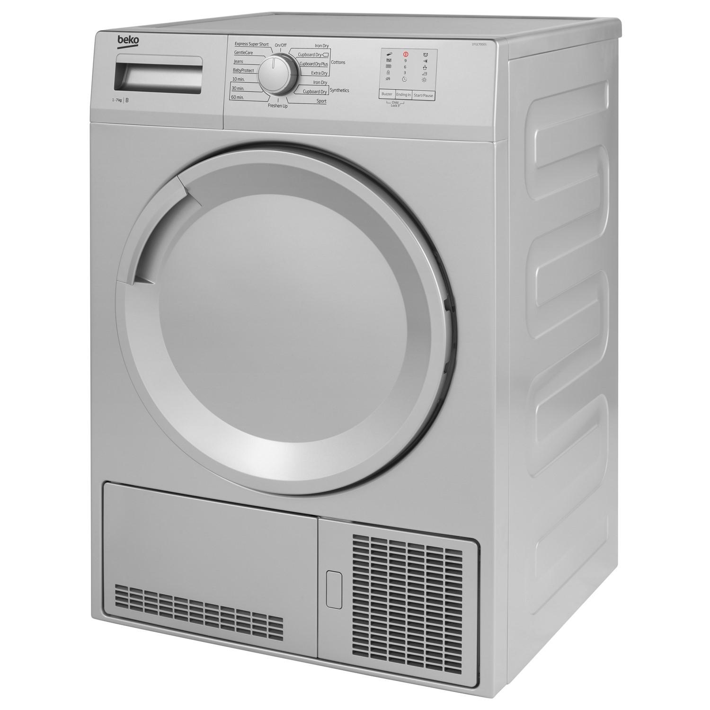 Beko DTGC7000S 7kg Freestanding Condenser Tumble Dryer - Silver DTGC7000S   eBay