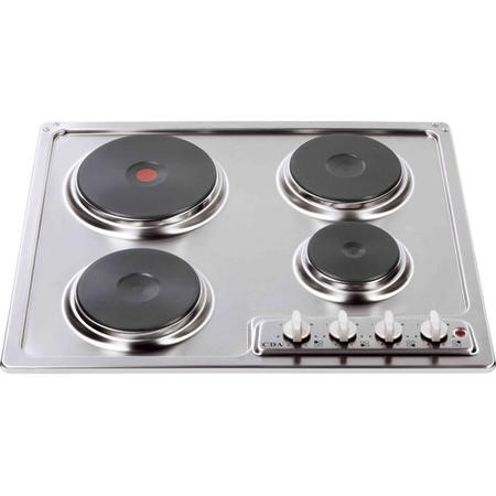 GRADE A2  Light cosmetic damage  CDA HCE540SS Front Control Electric Sealed Plate Hob