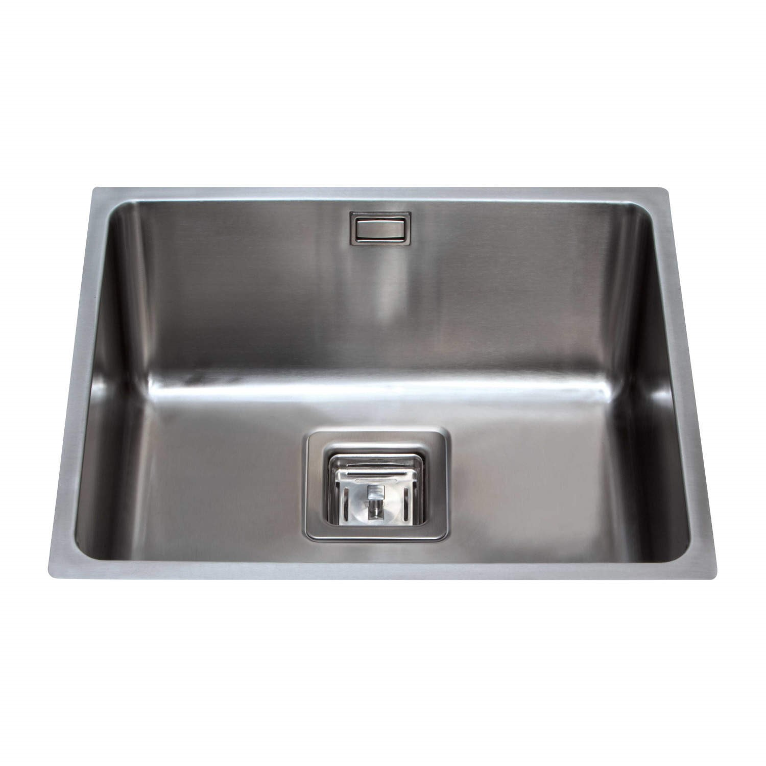single bowl stainless kitchen sink suite deals cda ksc24ss square undermount steel