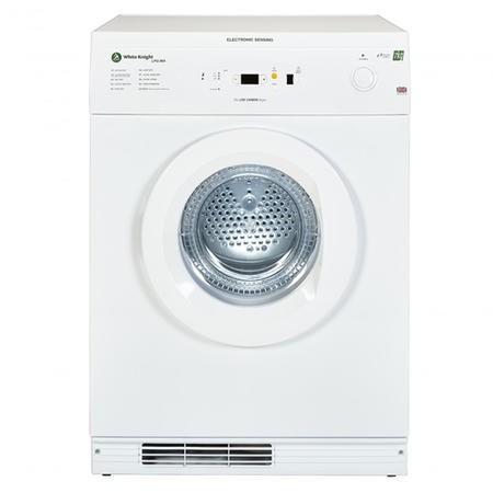 White Knight LPG86A 7kg Freestanding Sensing Vented LPG Gas Tumble Dryer With Reverse Tumble - White   Appliances Direct