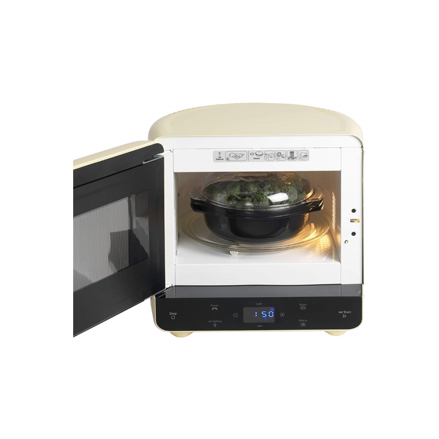 whirlpool max35crg max 35 microwave with steam function cream