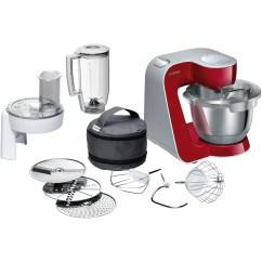 Bosch Kitchen Mixer Black Subway Tile Mum58720gb Creationline Machine Red Appliances Direct
