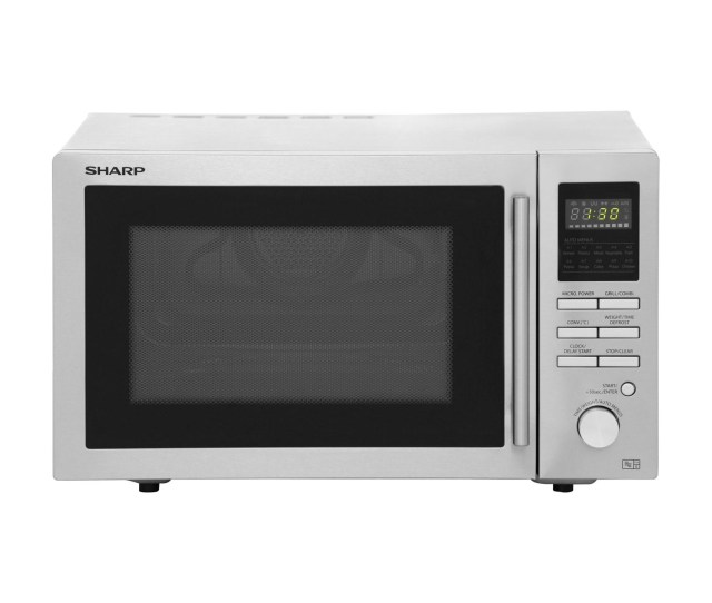 Sharp R82stma 25l 900w Freestanding Combination Microwave Stainless Steel R82stma