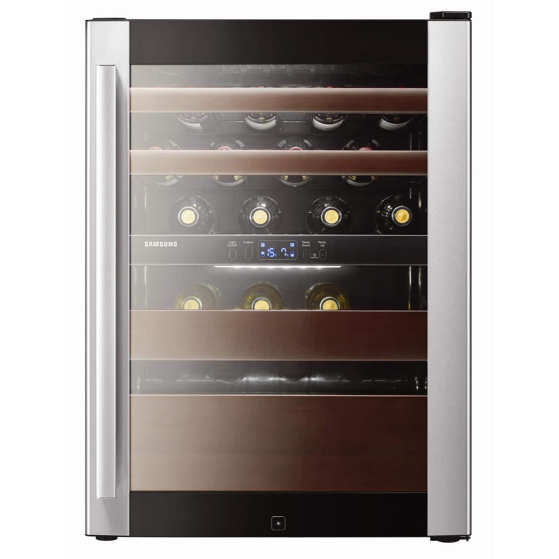 Samsung RW52DASS1 Dual Zone Freestanding Wine Cooler in