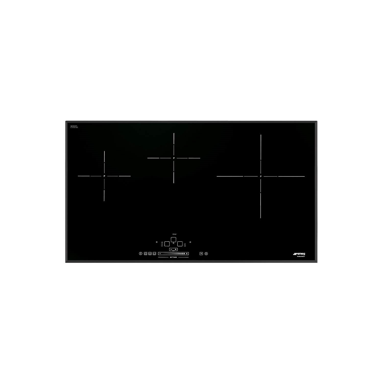 smeg induction hob wiring diagram cute origami cat sih5935b slim 90cm 3 zone angled edge glass with touch controls black