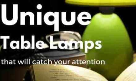 Unique Table Lamps For Under $60