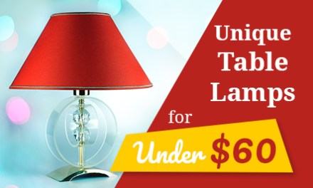 Unique Table Lamps For Under $60