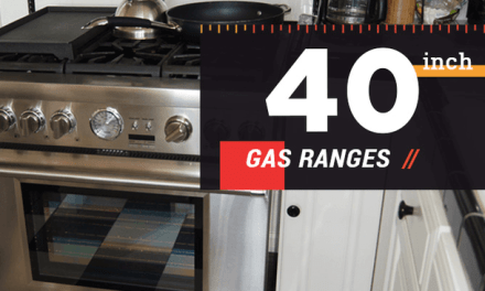 40 Inch Gas Range Perfect For Your Home