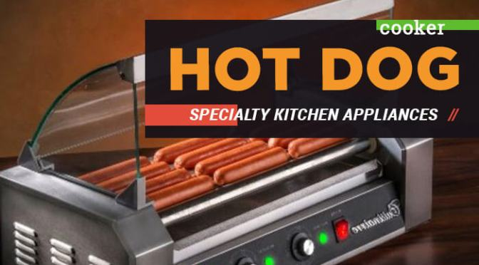 Hot Dog Cooker Specialty Kitchen Appliances