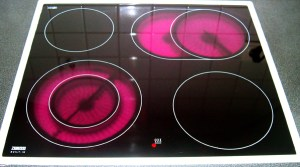 Electric stove tops