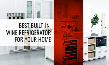 Best Built-in Wine Refrigerator for your Home