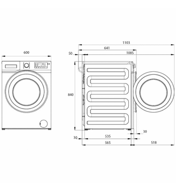 User manual Beko 8.5kg Front Load Washing Machine BFL8510W