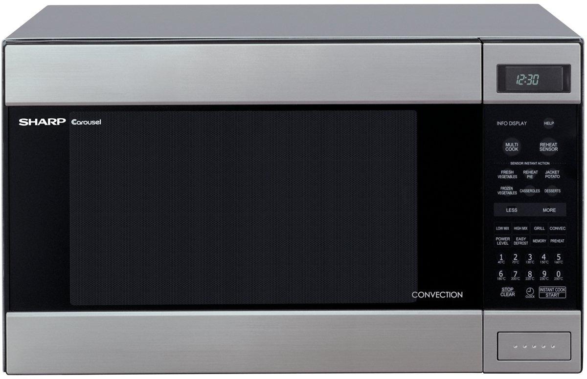 sharp r990ks 20l convection microwave 900w