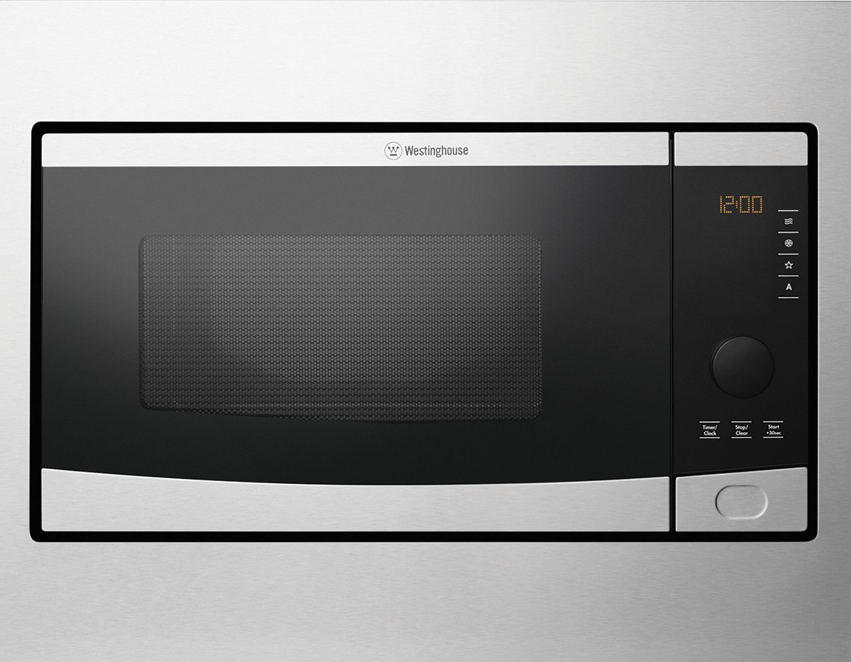 westinghouse wmb2802sa 28l built in 900w microwave oven