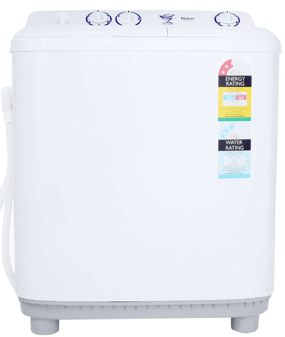 medium resolution of haier xpb60 287s 6kg top load twin tub washing machine appliances online