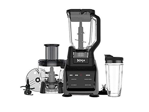 ninja 1500 watt mega kitchen system base cabinets sharkninja system, silver/black bl773co ...