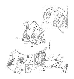 11062622101 electric dryer bulkhead parts diagram [ 1696 x 2200 Pixel ]