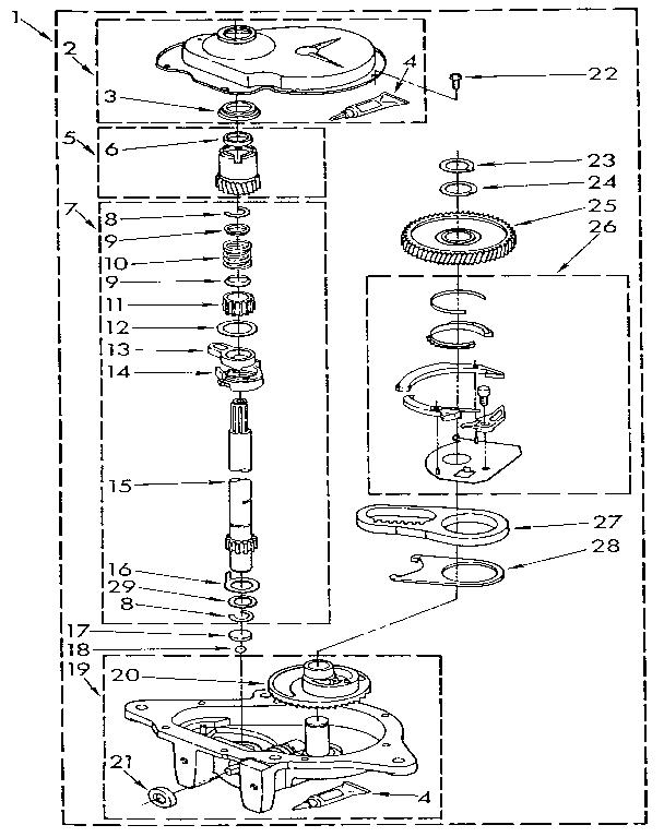 washing machine timer circuit washing machine motor agitator timer