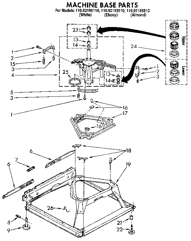 Kenmore Washer Repair Manual Model 111