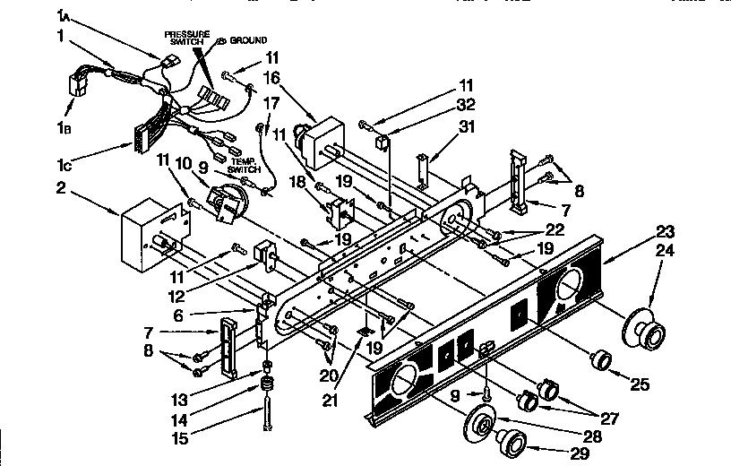 diagram kenmore 80 series dryer thermal fuse ge microwave oven fuse