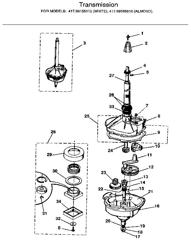 Kenmore Model 110 Diagram : 25 Wiring Diagram Images