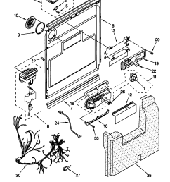 kenmore 66515982990 timer stove clocks and appliance timers66515982990 dishwasher door and latch parts diagram [ 1648 x 2338 Pixel ]