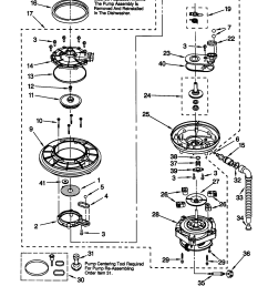 66515982990 dishwasher pump and motor parts diagram [ 1648 x 2338 Pixel ]