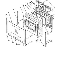 66595812000 electric range door parts diagram [ 1696 x 2200 Pixel ]